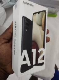 Samsung a12 64 GB lacrado com nota fiscal