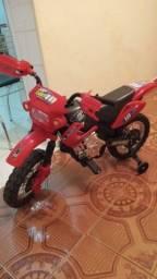 Moto Elétrica Infantil Motocross