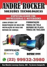 Casa das impressoras & Notebook