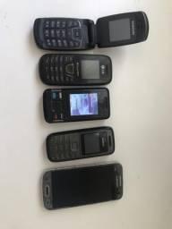 5 celulares por 230