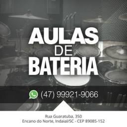 Aulas de Bateria