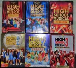 Coleçao completa em DVD High School Musical 7 filmes