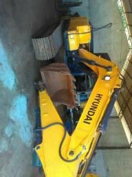 Escavadeira Hiunday 140 lc7