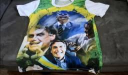 Camisa para a posse do Presidente Jair Bolsonaro - 1 de Janeiro