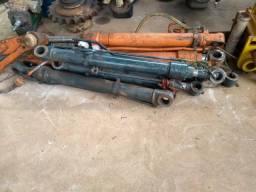 Pistao de escavadeira hidraulica