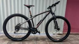 Bike Elite 1.0 cinza, Karakoran, 27 V. ARO 29. Freio hidráulico zap 83996319877