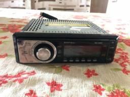 Caixa de som, módulo e rádio