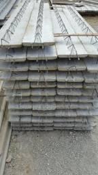 Laje treliçada isopor tijolo e painel