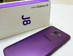 Samsung j8 Dual Chip 64gb Na Cx Completo com Nota fiscal/Garantia