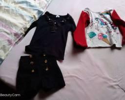 Vendo roupas infantis menina