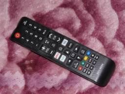 Chegou o controle Smart Samsung com atalhos produto novo entregamos em Poa-rs