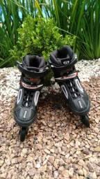 2 Roller traxart zephyr avs abec 7 tamanho 38 e tamanho 42 Aceito troca por bici