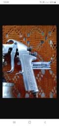 Pistola de pintura devilbiss modelo JGA 503 em ótimo estado
