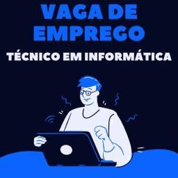 Vaga de Emprego - Técnico em Informática