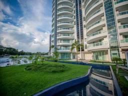 Apartamento 3 suítes com Vista para o Rio Negro a venda, Condomínio Ilha Bela, bairro Pont