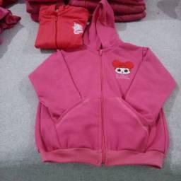 Blusões femininos infantis - P, M, G e GG