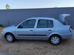 Clio Sedan Authentic Hiflex 1.0 16v 2007