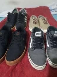 4 sapatos! Adidas, Vans etc