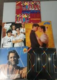 Lote com 5 Lps / discos novelas - Internacionais