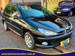 Peugeot 206 Sw 2008 1.4 Flex R$13.900,00 Financio !!!