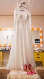 Vestido de Noiva - Aluguel