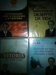 DVDs (Novos, Lacrados) Evangélicos de Motivação de Silas Malafaia - 1 por 20 e os 5 por 75
