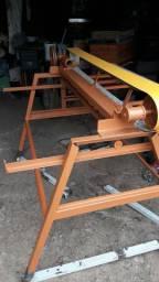Lixadeira de mesa horizontal