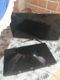 Vendo duas TVs somente para retirada de  peças  250