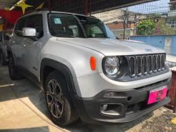 Jeep Renagade 1.8 2017 Automática +(gnv) único dono Entr + 48x1.199 fixas no CDC
