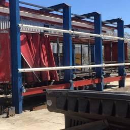 Gaiola de alinhar chassis de caminhões e carretas basculantes