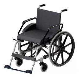 Cadeira de rodas Jaguaribe Taipu J3 prata