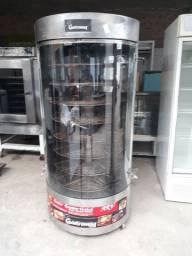 Máquina de Assar Frango Giratória Gastromaq 150kg Semi Nova