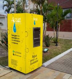 Nosso equipamento purificador remove 99,9% de químicos e orgânicos da água