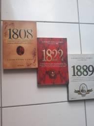 Inédita série de livros 1808, 1822 & 1889