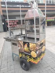 Carrinho para churrasco e batata frita parana