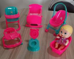 Conjunto kit Bebê 6 ítens