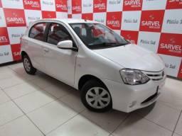 Toyota Etios XS 1.5 manual, branco pérola, só DF. Confira!!!