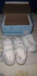 Vendo sapatilha branca para batizado N° 25