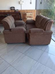 Conjunto de sofá 3x2 lugares