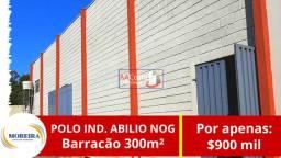 Barracão 300m² - Oportunidade de Negócio!