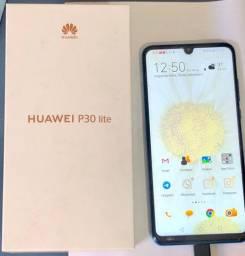 Huawei P30 Lite 128GB C/ Nota e Garantia - Aceito Troca