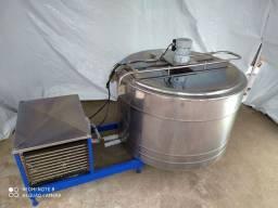 Tanque Resfriador 300 Litros Maturar Calda Inox Espansão Tina