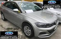 Vw Volkswagen Virtus Mec. MSI 1.6 2020. Entrada a partir de 11.500,00 + 48 de 999,00