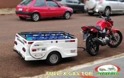 Carretinha para moto modelo Full Gás Top