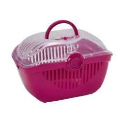 Caixa de Transporte para pet - Top Runner Moderna Pink