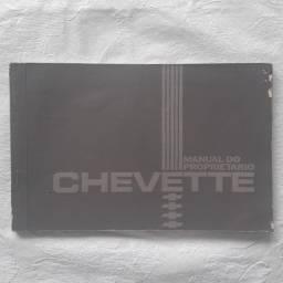 Manual do Chevette 1982