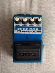 Pedal DOD Stereo Chorus Ice Box made in USA