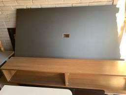 Painel tv 50 polegadas com nicho