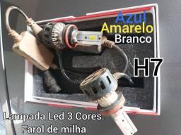 Lâmpadas de Led H7 / H1