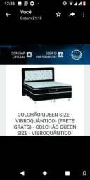 Colchão Queen Size Terapêutico Magnético Infravermelho